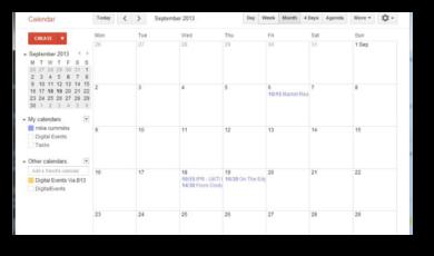 Calendar Updater